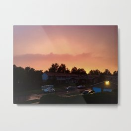 Calm after the Storm Metal Print