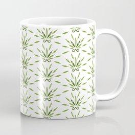 Marijuana leaf and scissors pattern Coffee Mug