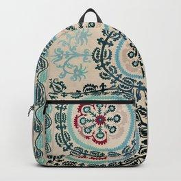 Ferghana Suzani  Northeast Uzbekistan Embroidery Print Backpack