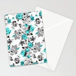 Hula Floral Stationery Cards