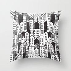 SPRAWL Throw Pillow