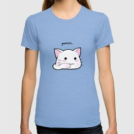 Purrring Kawaii Kitten MEOW! =(^_^)= T-shirt