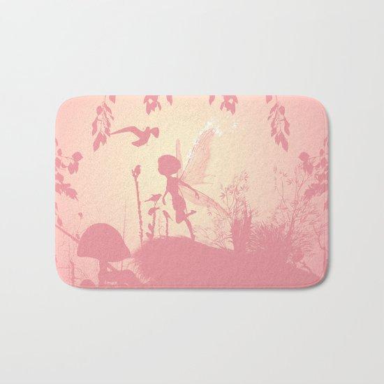 Fairy silhouette Bath Mat