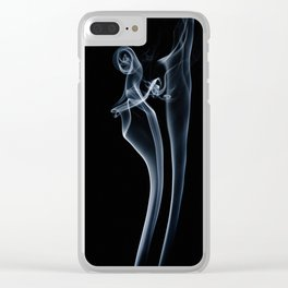 smoke couple 1 Clear iPhone Case