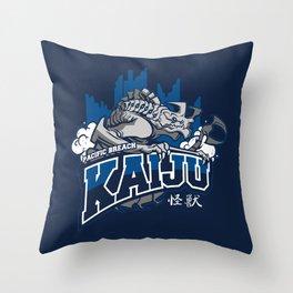 Pacific Breach Kaiju Throw Pillow