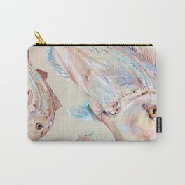 Pink Snapper Fish Carry-All Pouch