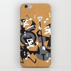 The Jazz Bats iPhone & iPod Skin