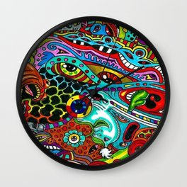 Flow Abstraction Wall Clock