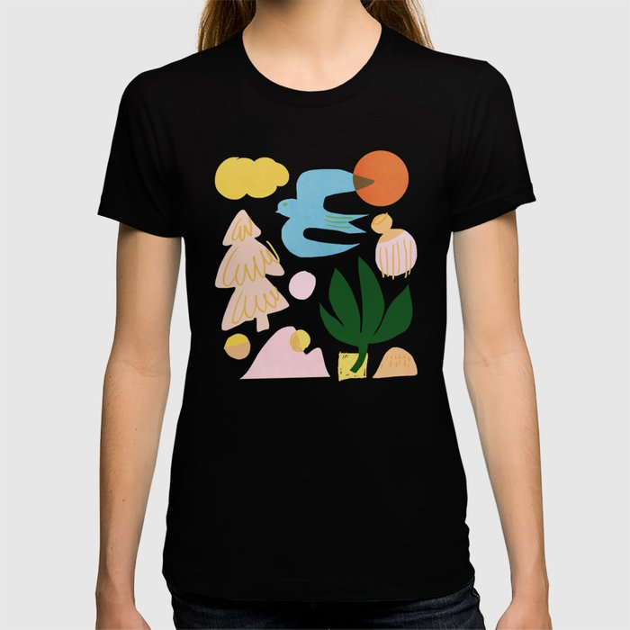 Abstraction_Nature_Beautiful_Day T-shirt