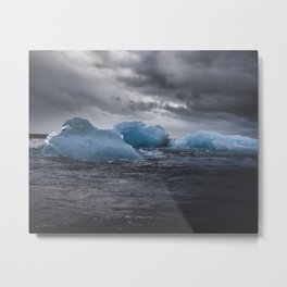 Electric Ice Metal Print