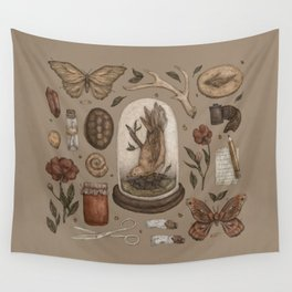 Preserved Memories Wall Tapestry