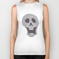 celtic Biker Tanks featuring Celtic Skull by ronnie mcneil