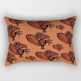Castors Deavers Rectangular Pillow