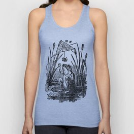 Frog and Spider Unisex Tank Top