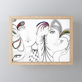 circus of love Framed Mini Art Print