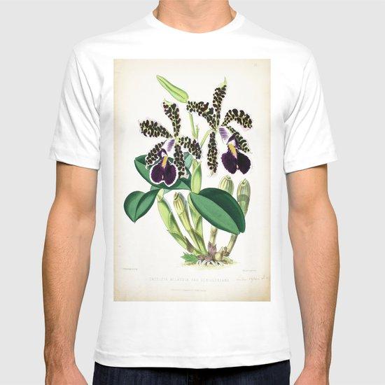 Dark Purple Vintage Orchid T-shirt