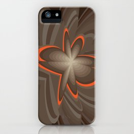 Wood flower 2 iPhone Case