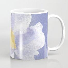 Peony on Blue Coffee Mug