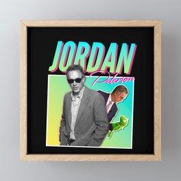 JBP 80s Meme Shirt Framed Mini Art Print