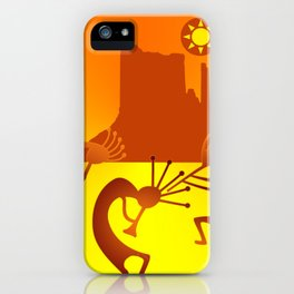 Sunny Day Kokopelli iPhone Case