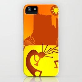 Sunny Day Kokopelli iPhone Case