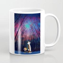 calvin and hobbes nebula galaxy Coffee Mug