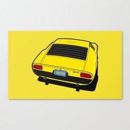 Lamborghini Miura P400 (1966) Canvas Print