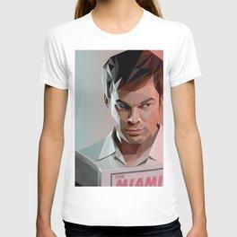 Low Poly Dexter T-shirt