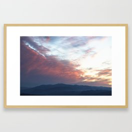 Sunset of the Beyond Framed Art Print