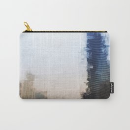 London Abstract Carry-All Pouch