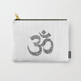 om in black Carry-All Pouch