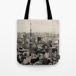 Sepia Tokyo Tote Bag