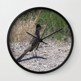 Roadrunner Wall Clock