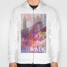 Snowstorm on the city Hoody