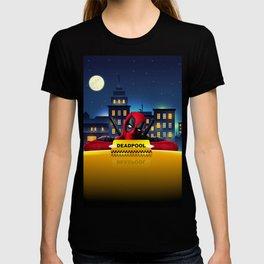 Dead Pool Taxi Night T-shirt