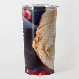 Croissants with jam Travel Mug
