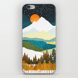 Winters Night iPhone Skin