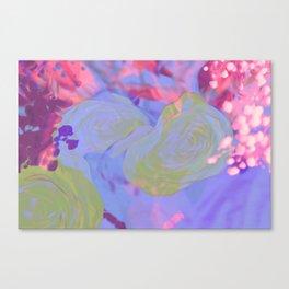 Kawaii Pretty Springtime Sparkle Canvas Print