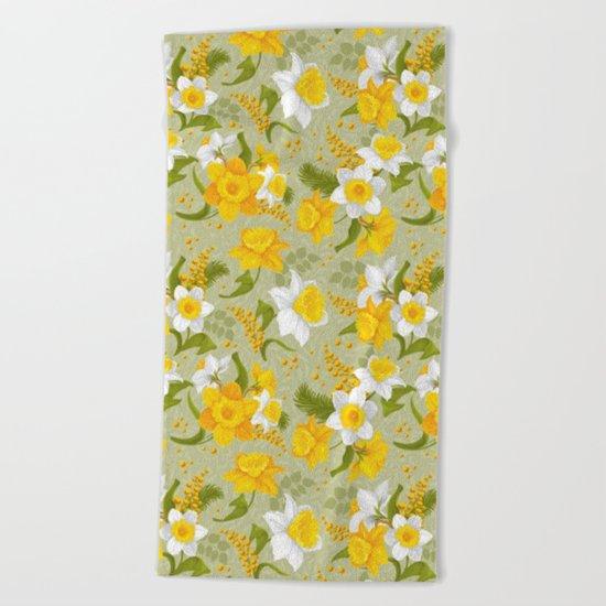Spring in the air #14 Beach Towel