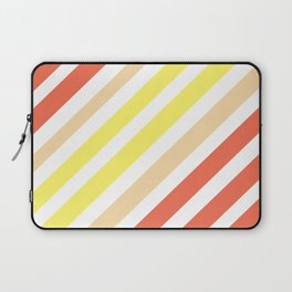 Red Yellow Lines Laptop Sleeve