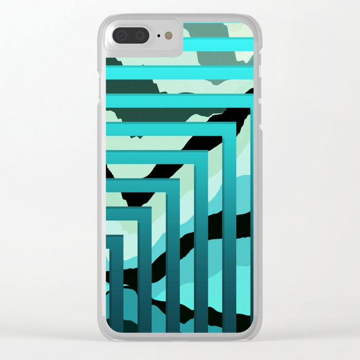 TOPOGRAPHY 2017-007 Clear iPhone Case