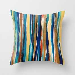 Washed in Color Throw Pillow