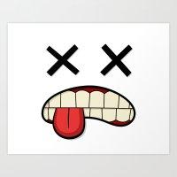 the xx Art Prints featuring XX by Rob Barrett — Nice Hot Cuppa