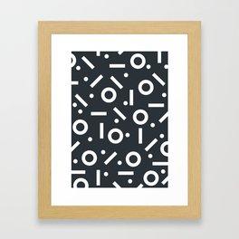 Geometric Pattern 03B Framed Art Print