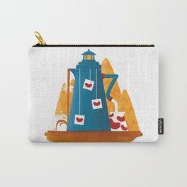 Tea Lighthouse Carry-All Pouch