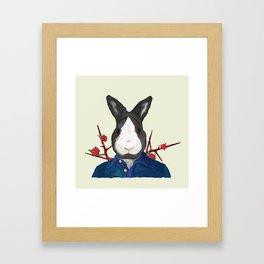Mr. Rabbit Framed Art Print