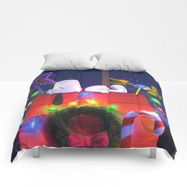 Snoopy Sleep House Comforters