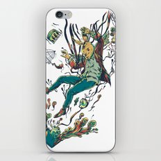 Down the Rabbit Hole iPhone & iPod Skin