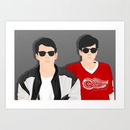 Save Ferris Art Print