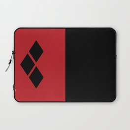 Two Sides of Harley Quinn Laptop Sleeve